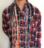 Rebuild by Needles flannel size Medium