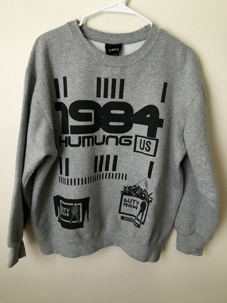 "Neighborhood ""1984"" logo crewneck from 2003 Large"