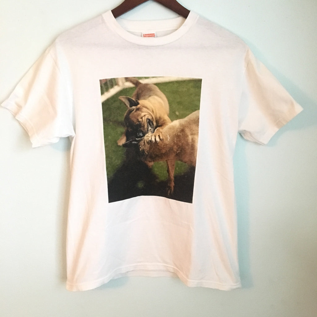 Supreme Dog Fight tee 2006 Medium