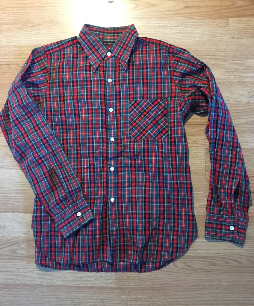 Needles Tartan buttonup Medium