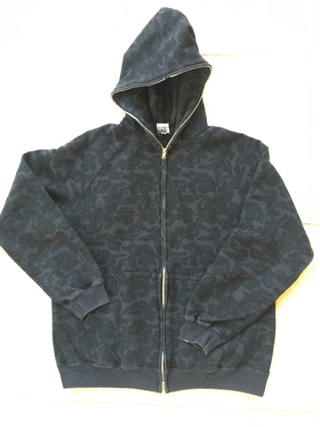 Bape camo full zip large