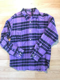 Undercover heavy flannel D.A.V.F. 2001 Medium