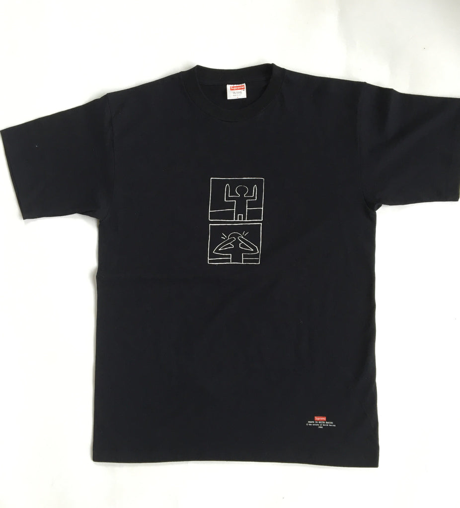 "Supreme ""Keith Haring"" tee 1998 Large"