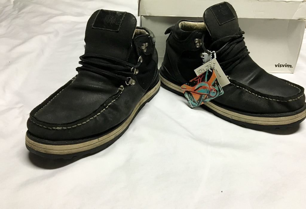 Visvim fang hikers size 9
