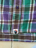 Bape pirate store flannel Medium