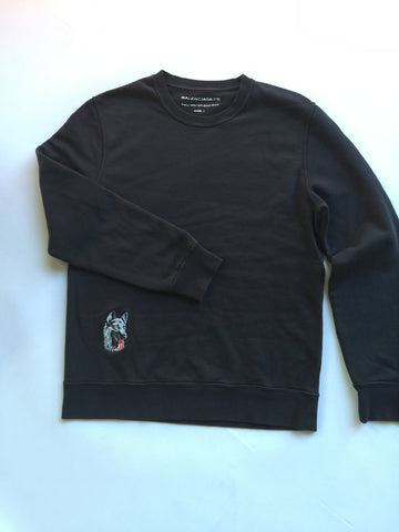 Balenciaga  German Shepard Patched Crewneck 2013 Large