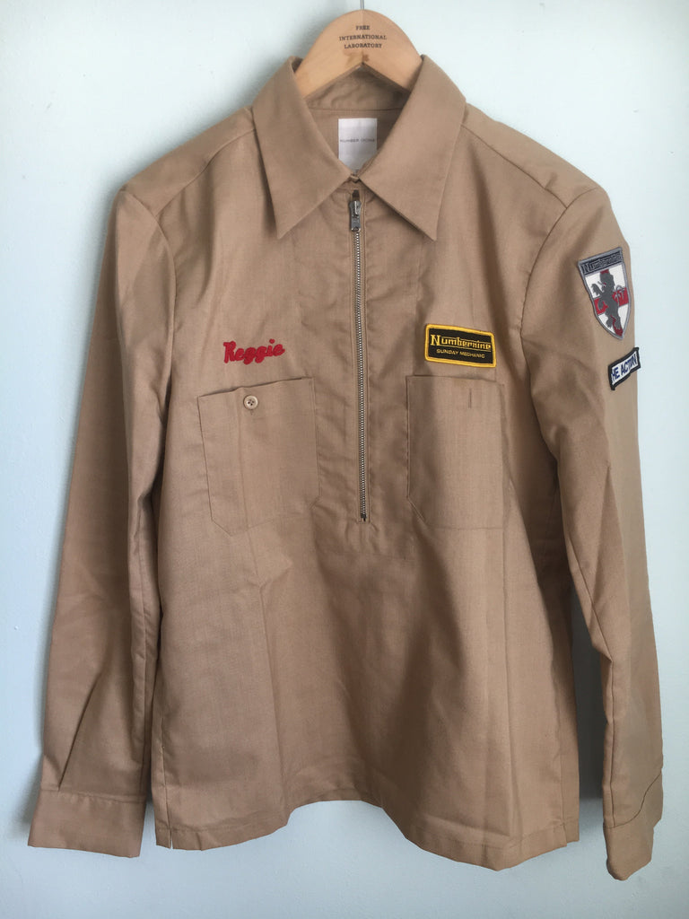 Number (N)ine mechanic jacket size 3 s/s2000