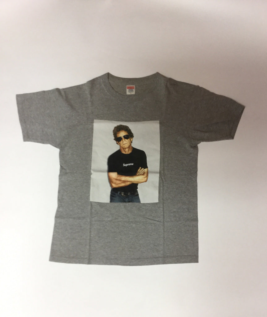 "Supreme ""Lou Reed"" Photo tee Grey Medium"