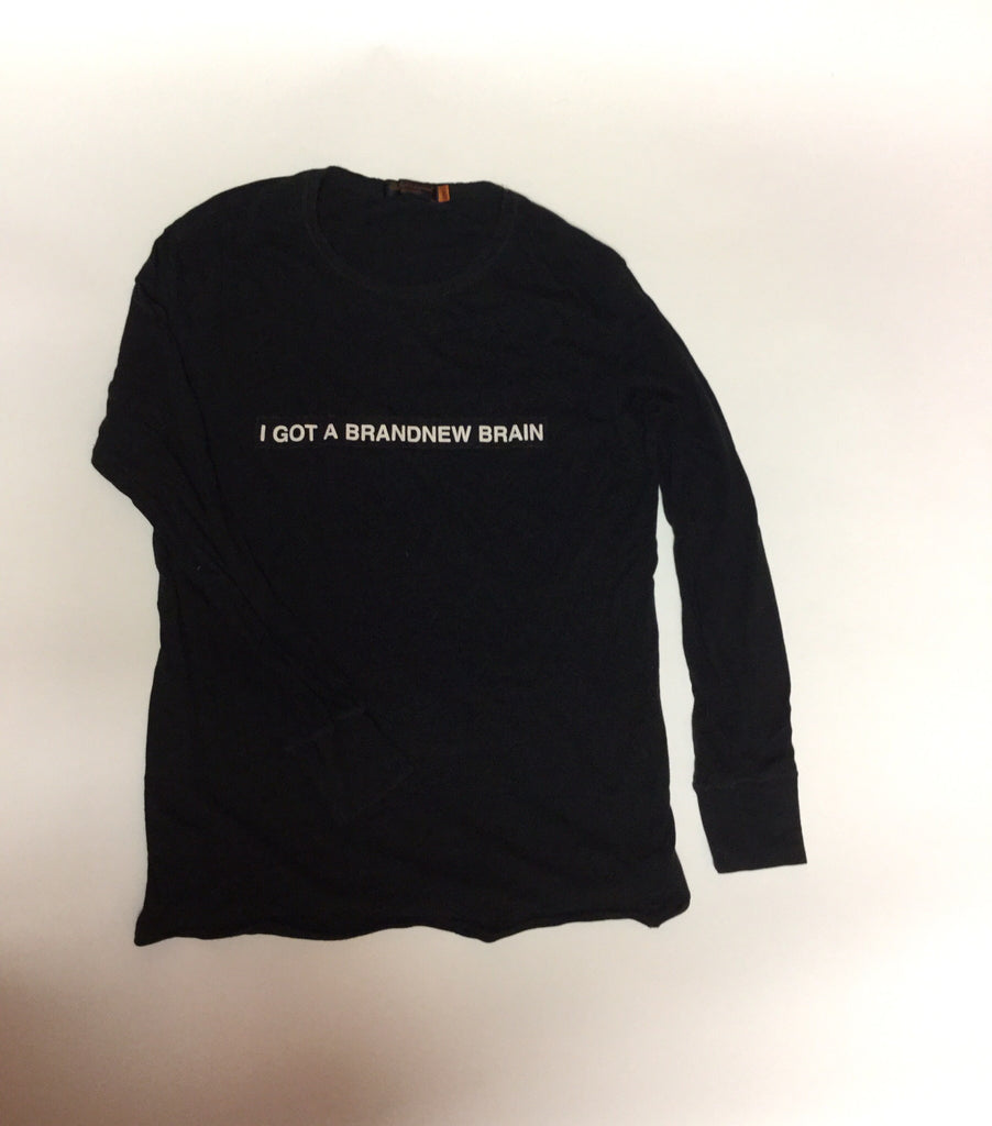 "Undercover ""I GOT A BRAND NEW BRAIN"" Long Sleeve Small/medium"