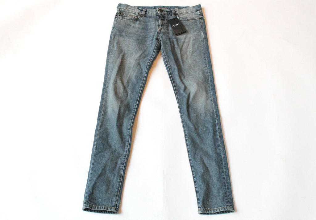 Saint Laurent Women's light wash denim size 30
