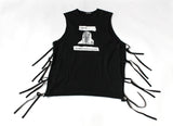"Raf Simon's ""Wave Transmission"" tank Size Medium ""History of the World"" A/W 2005"