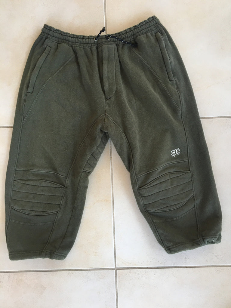 Undercover cropped biker sweats 2001 large