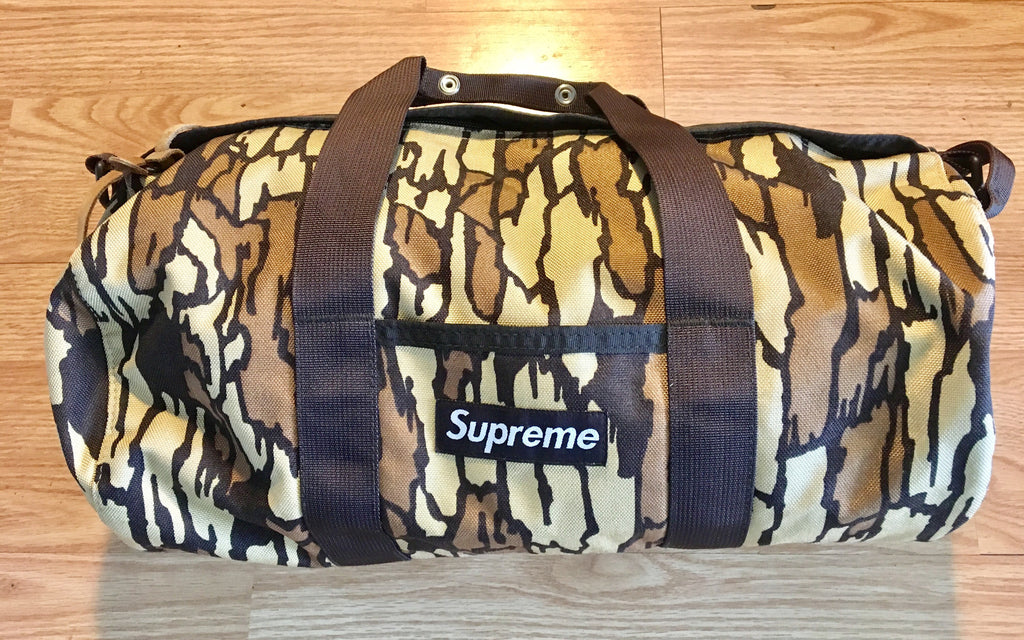Supreme Tree Bark Duffle 2006