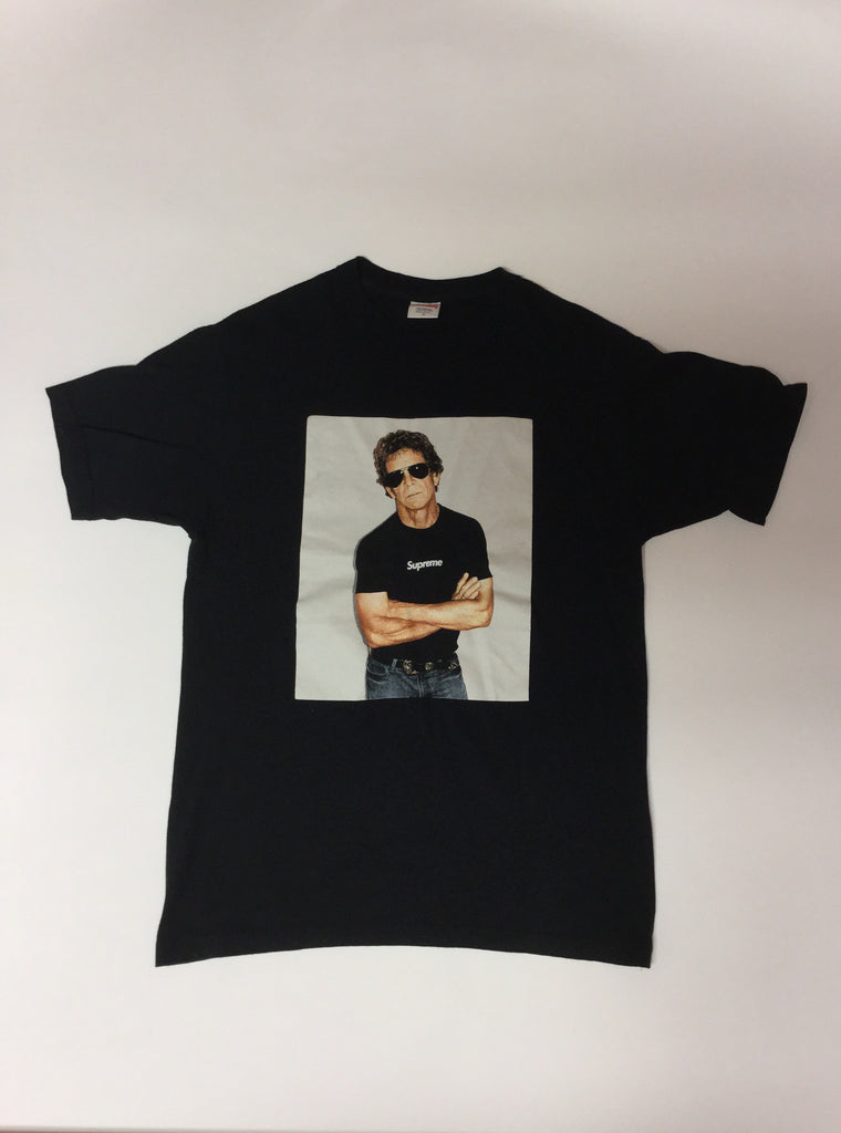 "Supreme ""Lou Reed"" photo tee Medium"