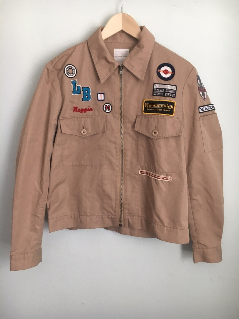 "Number (N)ine Mechanic jacket S/S 2000 ""extra heavy"""