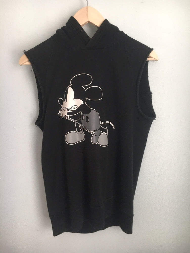 Number (N)ine Sleeveless Mickey Hoody