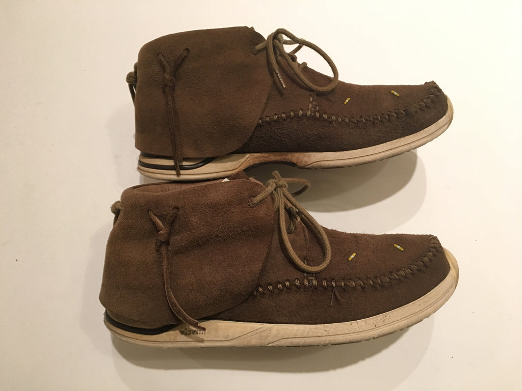 Visvim fbt  lhamo brown folk 9