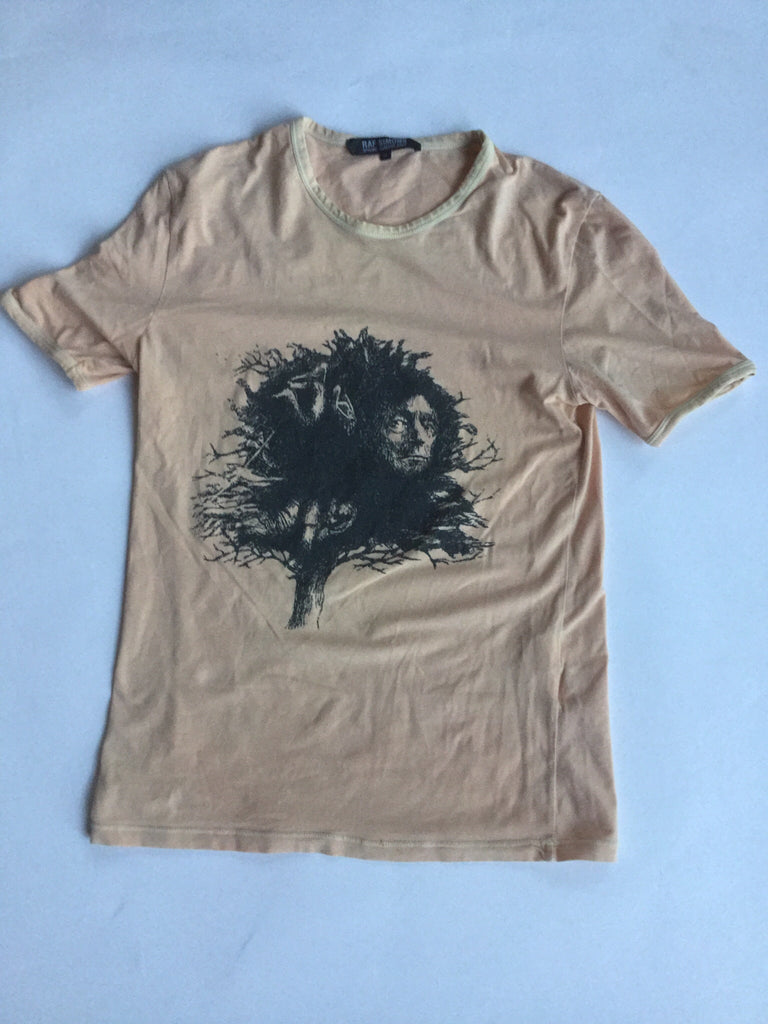 "Raf Simons Siddhartha t-shirt  ""May the Circle be Unbroken"" SS04 Small"