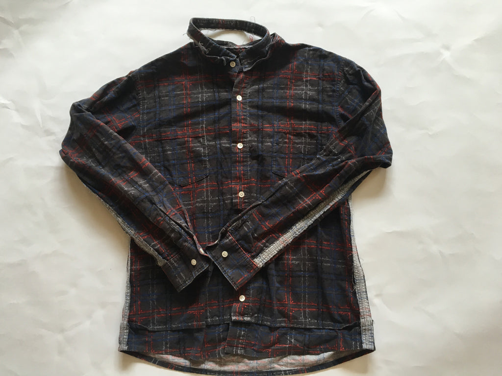 Undercoverism distressed scab era flannel 2003 Medium
