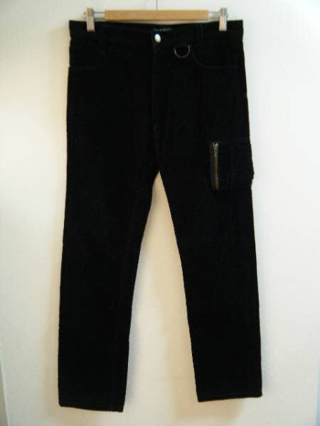 "Raf Simons Archived Corduroy Flight Pants ""Waves""A/W2004-2005 30"