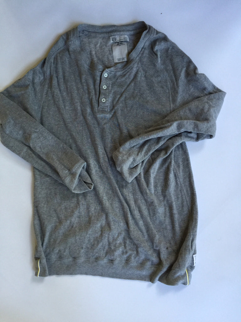 Visvim Grey Long Sleeve Henley