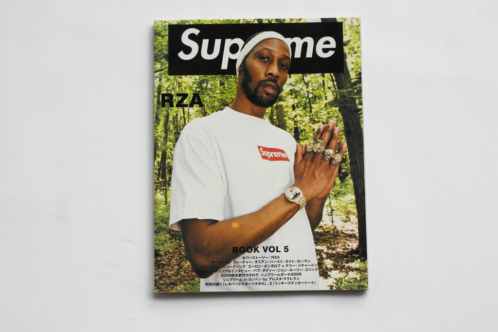 Supreme Book Volume 5 With Stickers
