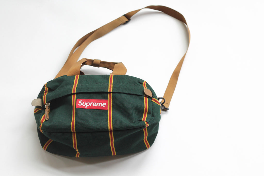 "Supreme shoulder bag made from ""sunbrella"" fabric"