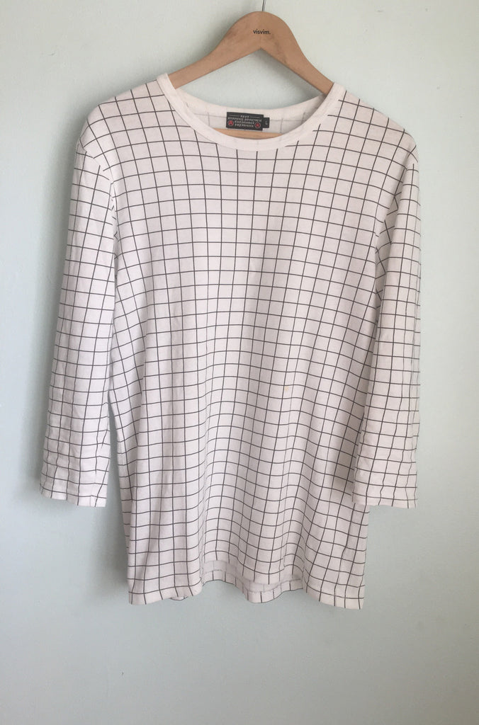 Undercover Affa grid tee Large