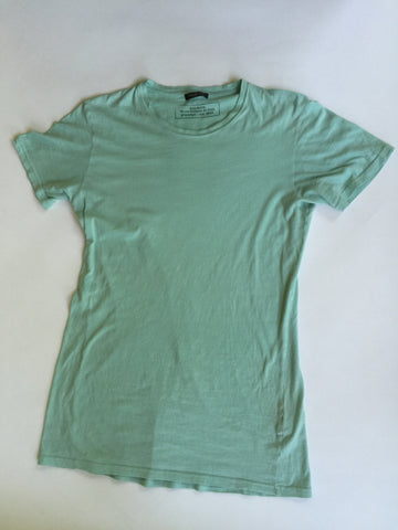 Balmain Teal Basic tee Medium 2012