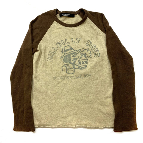 "Junya Watanabe ""Hillbilly Days"" sweater Small"