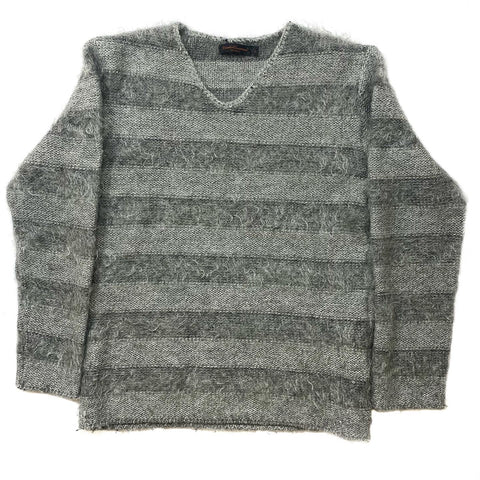 "Undercover Striped Mohair Sweater A/W03 ""Paperdoll"" Large"