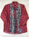 Rebuild by needles ribbon flannel Medium