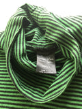 "Number (N)ine striped turtleneck ""High Streets"" 2005 Size 3/medium"