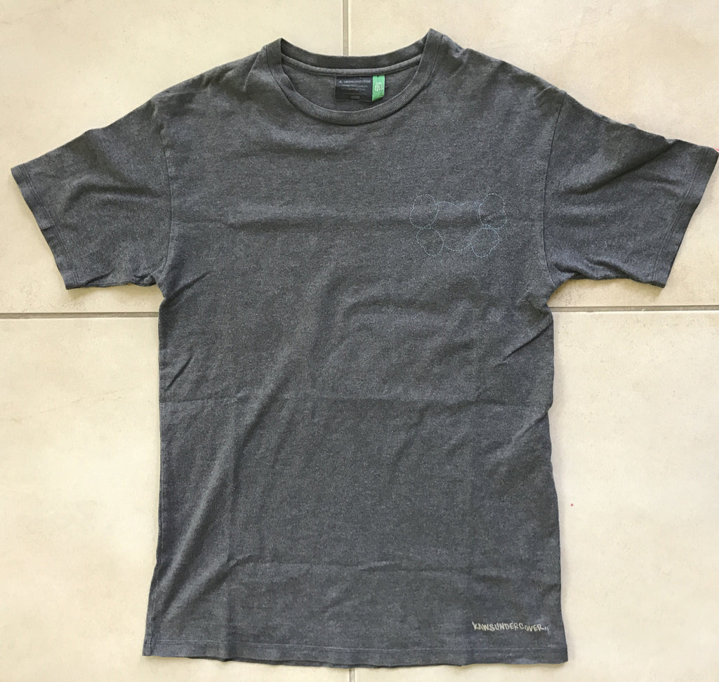 "Undercover X Kaws tee ""Small Parts"" 2000 Medium"