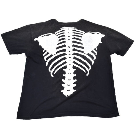 Kapital skeleton shirt black Oversized