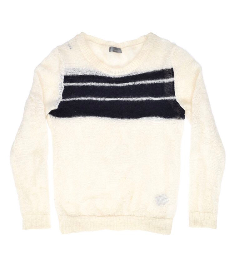 "INQUIRE Dior Homme Mohair Sweater A/W07 ""Navigate"" Small"