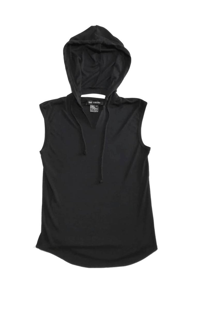 Raf Simons hooded tank top S/S1999 48/medium
