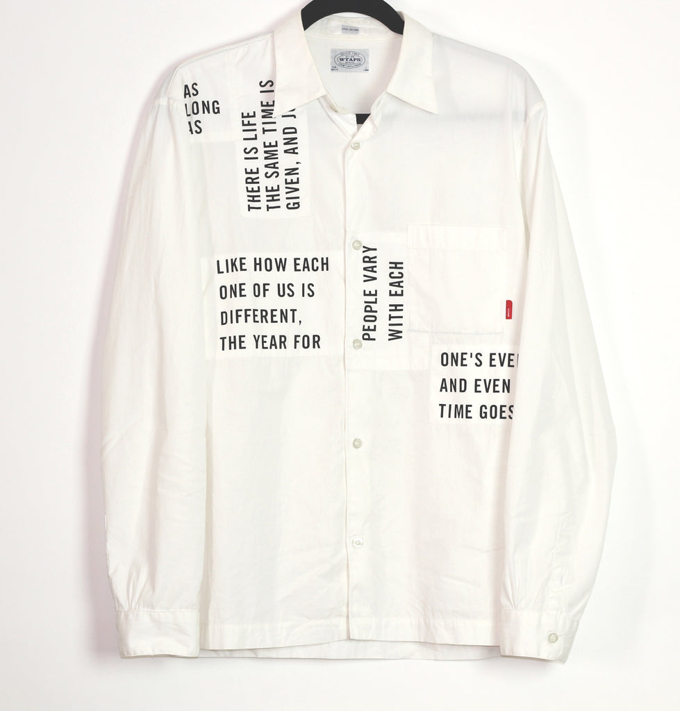 "Wtaps ""Way of Life"" button-up Large"