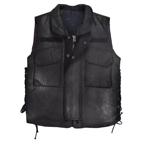 Phenomenon Blood Splatter/Wax Coated Combat Vest Medium