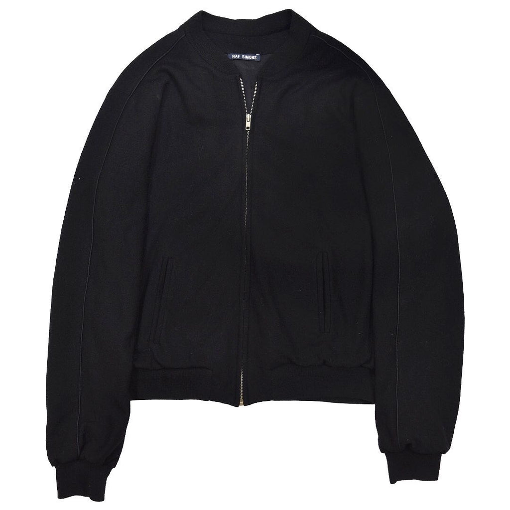 INQUIRE Raf Simons satin lined wool varsity A/W98-99 Medium