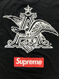 Supreme x Budweiser tee 2009 medium