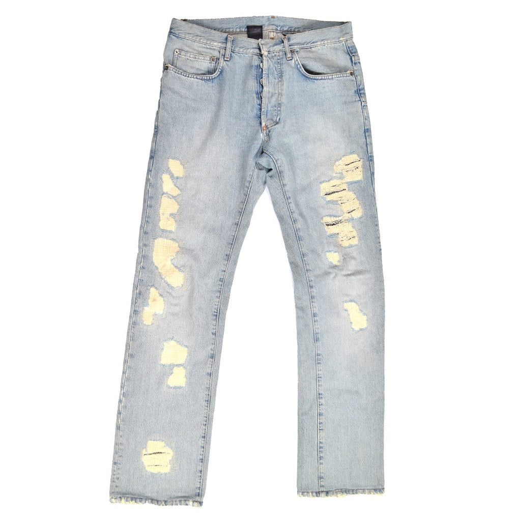 Dior distressed denim S/S06 31