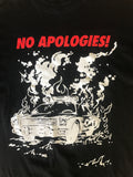 "Supreme ""No apologies"" tee 2009 Medium"