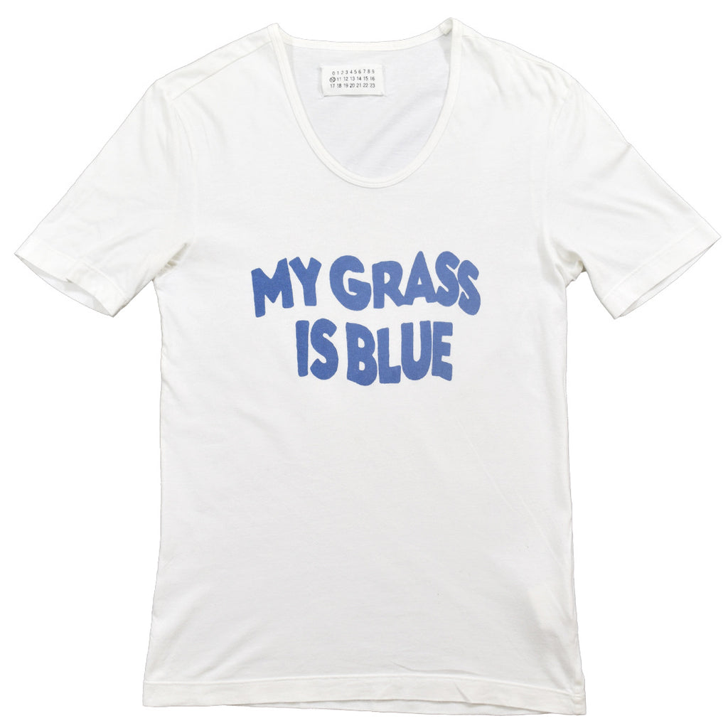 "Margiela ""My Grass is Blue"" t-shirt S/S06 Small"