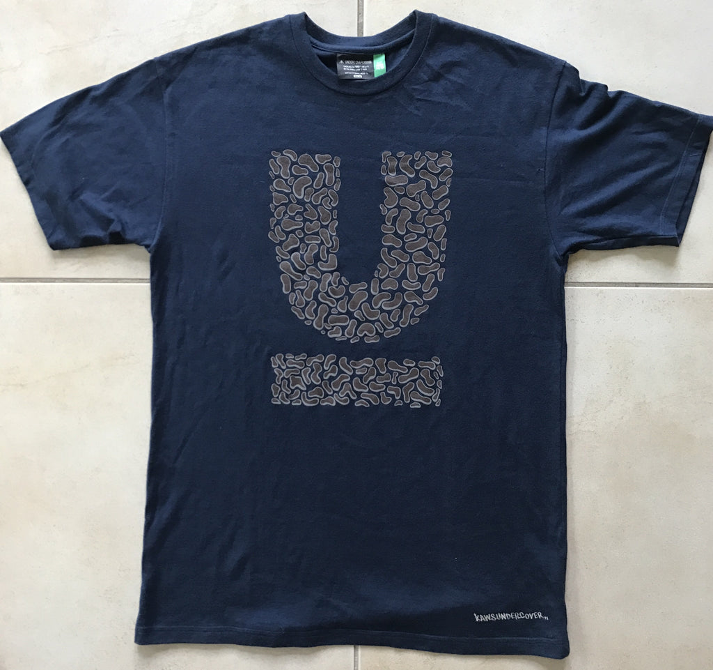 "Undercover x Kaws logo tee ""Small parts"" 2000 Medium"