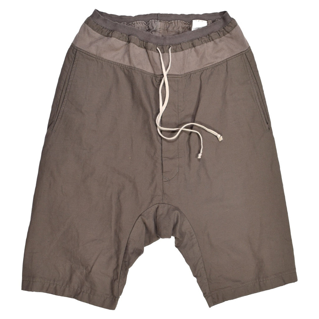 Rick Owens paneled pod shorts Small