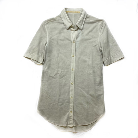 Carol Christian Poell cotton short sleeve button-up 46