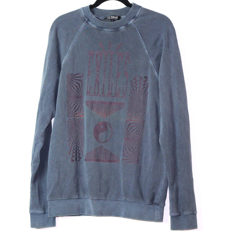 "INQUIRE Raf Simons Overdyed ""Exiles"" Crewneck AW2004 Medium/Large"