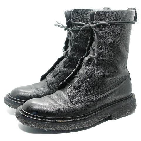 "Dior Homme Pebbled Leather Combat Boot A/W07 ""Navigate"" 40"