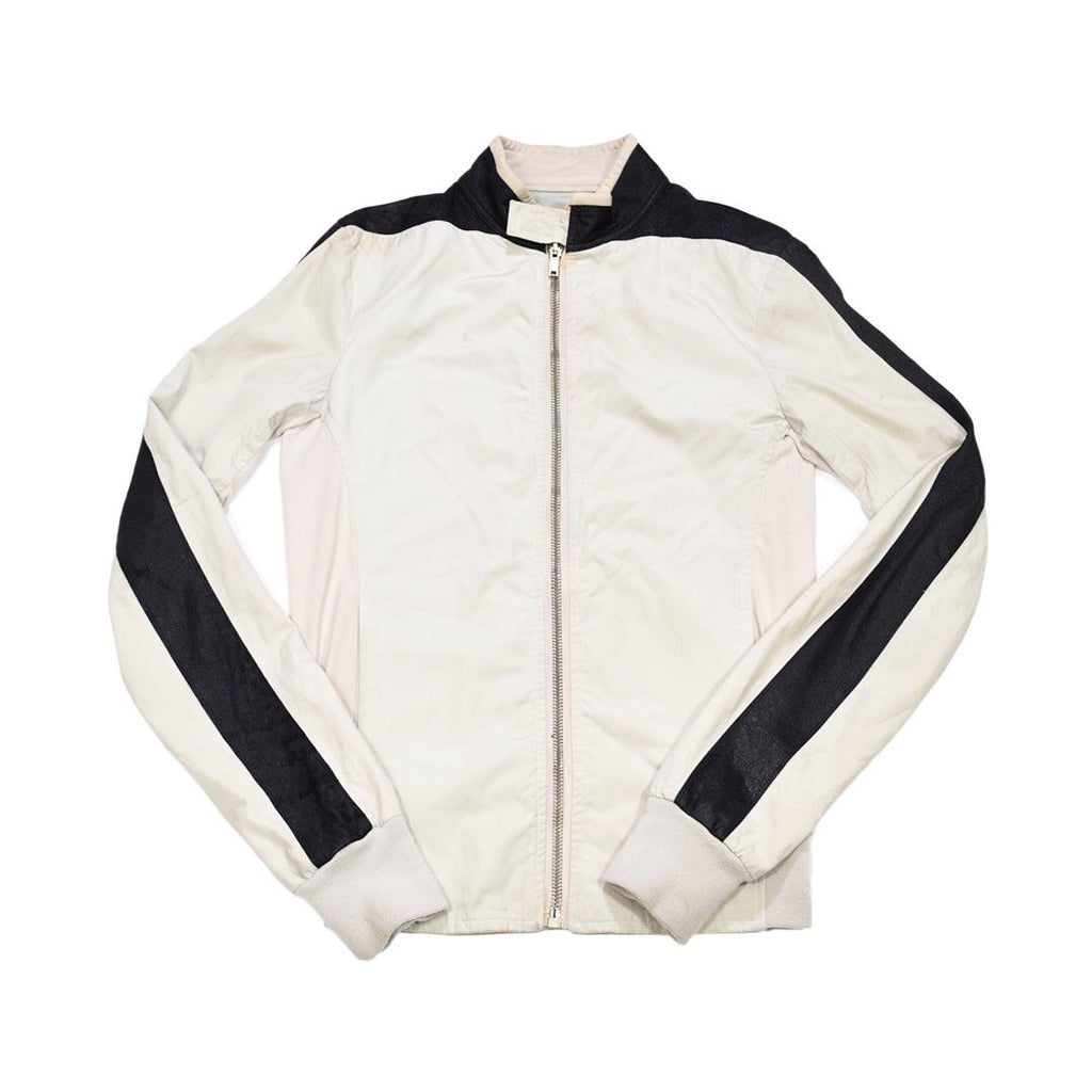 "Rick Owens Pilo t jacket with blistered lambskin detailing S/S08 ""Creatch"" Medium"